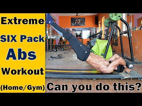 EXTREME SIX PACK Abs Workout (Home/Gym) l Bodybuilding Tips