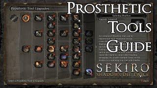 Sekiro: Shadows Die Twice - Prosthetic Tools Guide