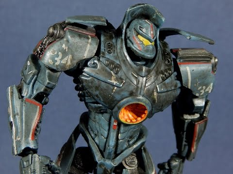 NECA Pacific Rim Gypsy Danger Battle Damaged Jaeger
