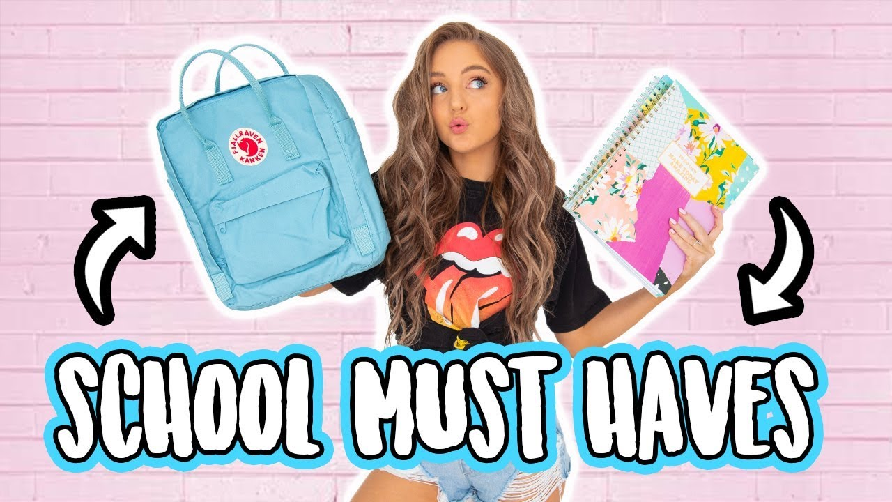 10 BACK TO SCHOOL MUST HAVES / ESSENTIALS!! 2018