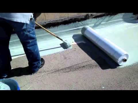 Roofcare Capsheet Roof Renovation - Hydro Stop - YouTube