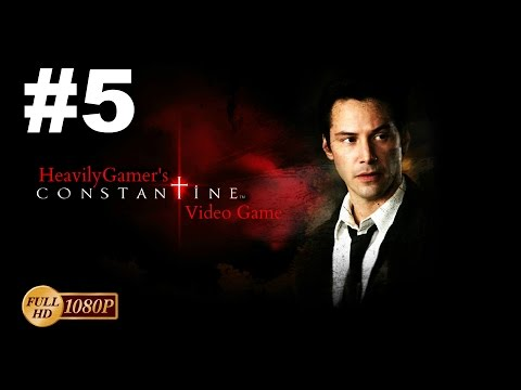 Constantine The Game Walkthrough Gameplay Part 5:Escape From The Police Station/Behemoth Boss Fight