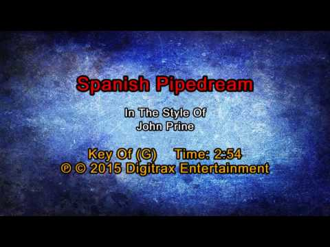 John Prine - Spanish Pipedream (Backing...