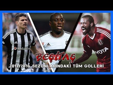 Beşiktaş'ın 2013-2016 sezonları arasındaki (183) tüm golleri HD