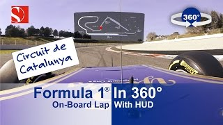 SPECTACULAR: 360° F1 On-Board Lap with HUD - Sauber F1 Team thumbnail
