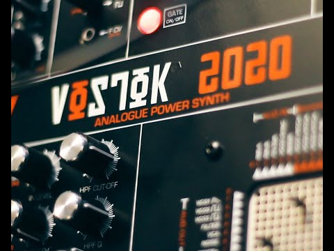 Vostok 2020 - analogue audio selection - Analogue Solutions pin matrix synth