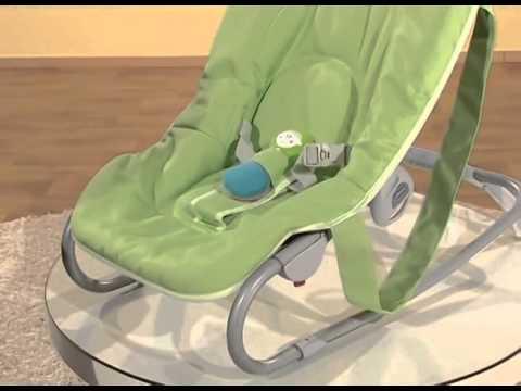 מקורי בייבי גודס - טרמפולינה לתינוק Easy Relax Chicco - YouTube ID-92