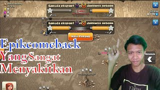 Epic Comeback War - Clash Of Clans