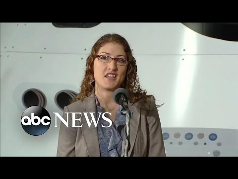 Astronaut Christina Koch returns home after 1 year in space | ABC News Prime