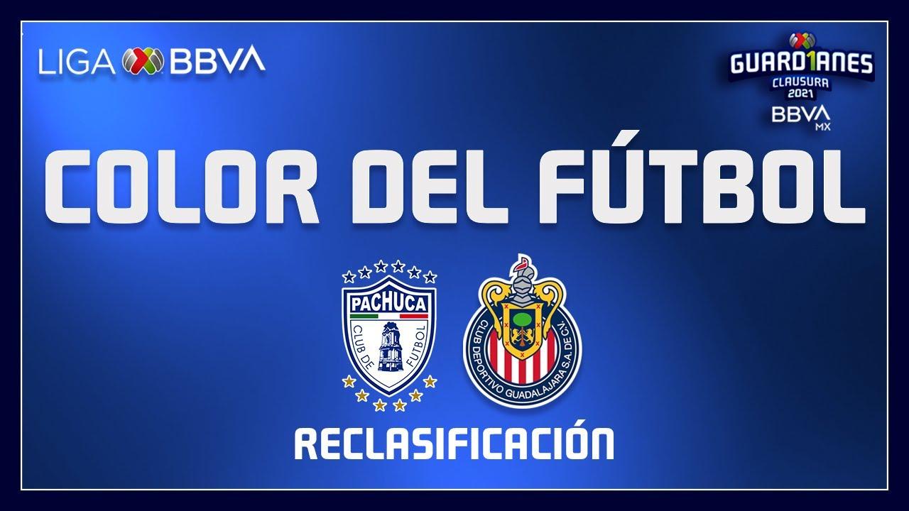 Color del Fútbol - Pachuca vs Chivas   Reclasificación - Liga BBVA MX   Guard1anes 2021  4K