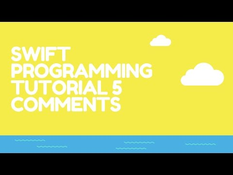 Swift Programming On Any Computer Tutorial 5 Comments