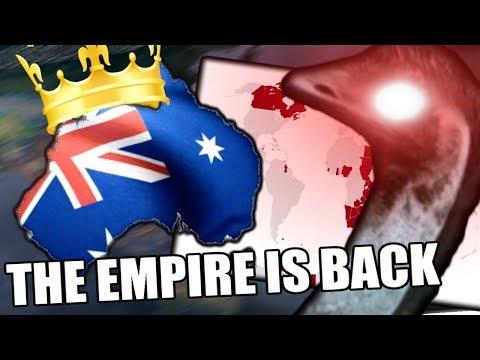 Hearts Of Iron 4: WHAT IF AUSTRALIA REUNITES THE EMPIRE? - Kaiserreich