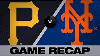 Matz tosses complete game shutout for win | Pirates-Mets Game Highlights 7/27