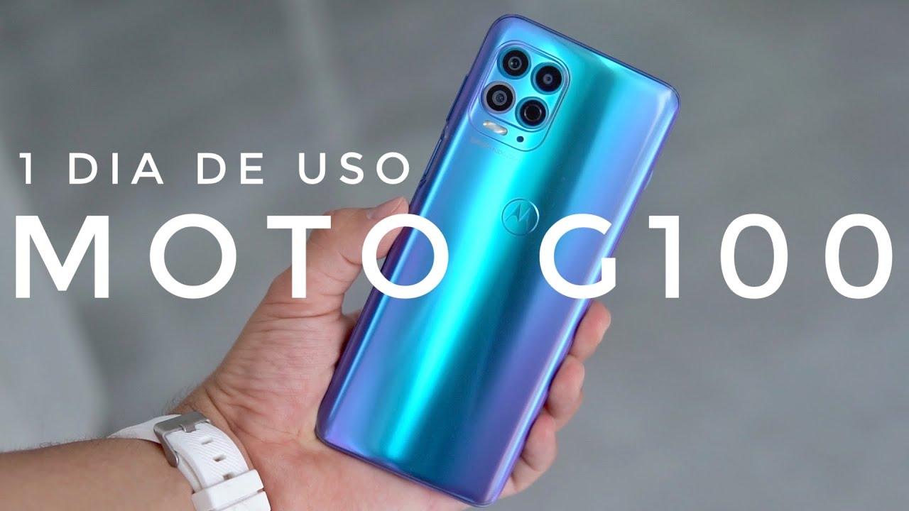 Estás READY? - Moto G100 1 dia de uso
