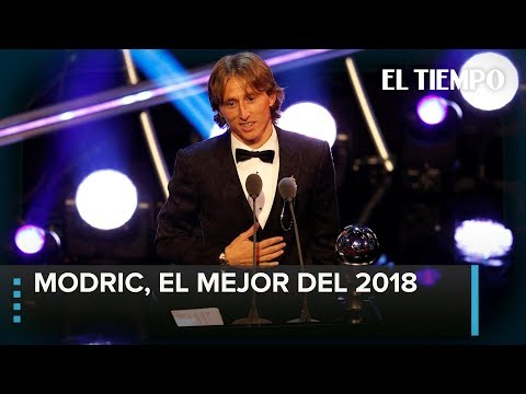 The Best 2018: Modric, mejor jugador de la FIFA   EL TIEMPO