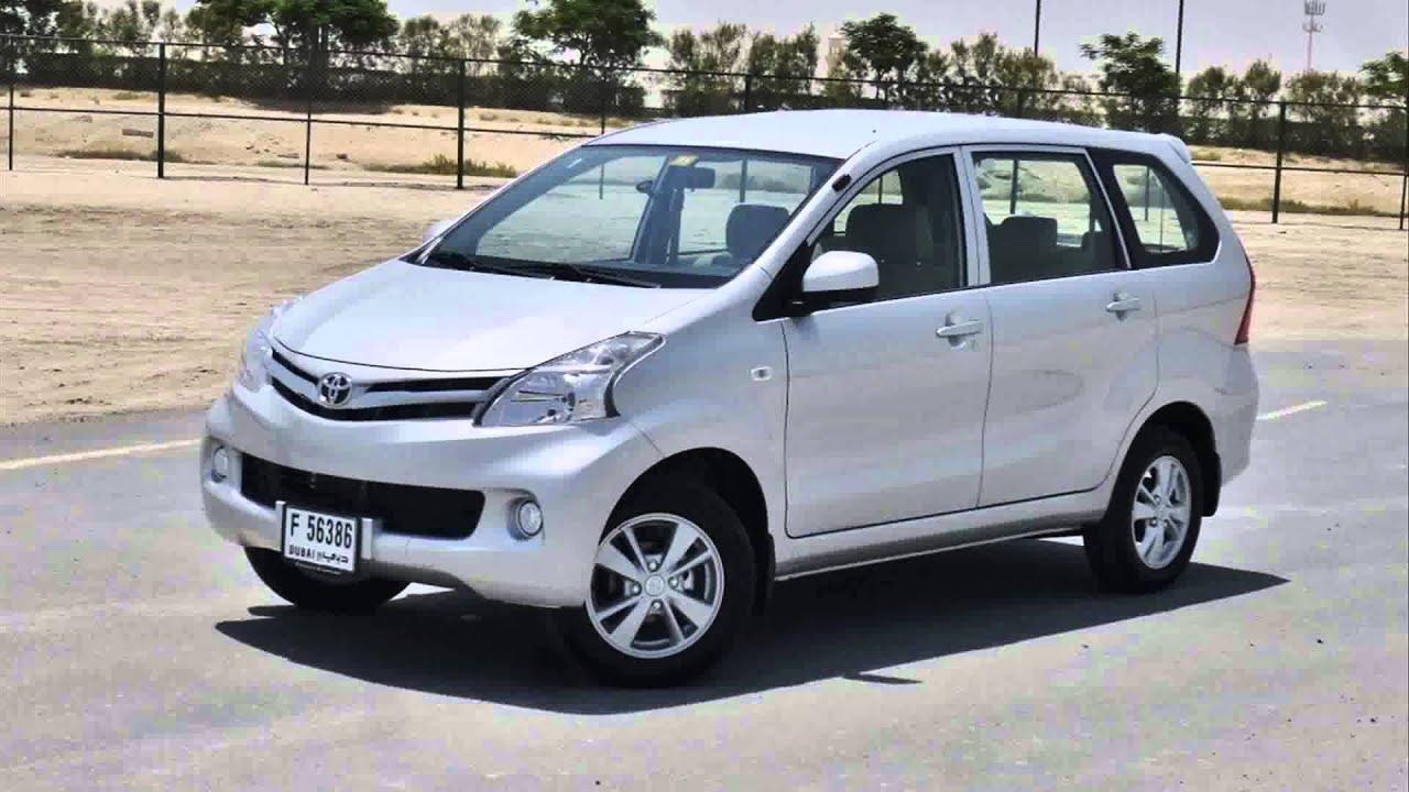 Toyota Avanza 2015 Model
