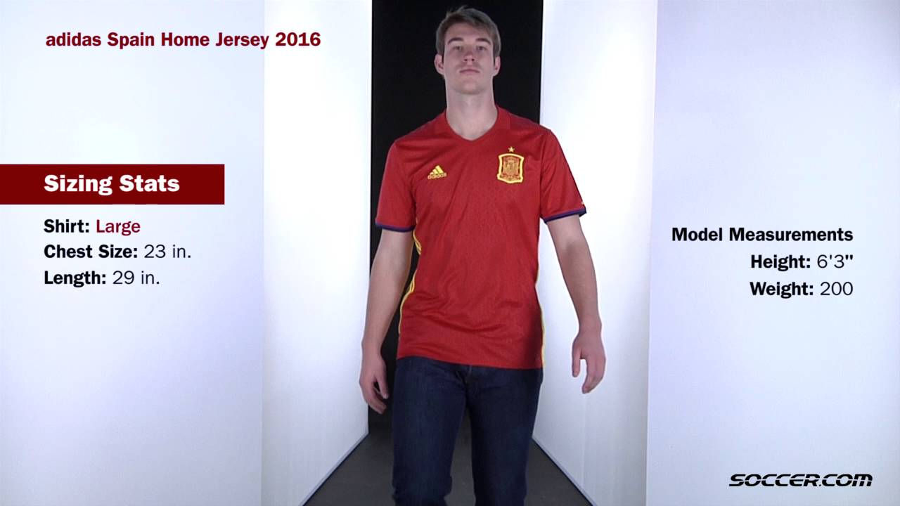 adidas Spain Home Jersey 2016 - YouTube dfe99566f
