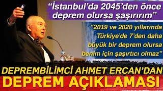 Deprembilimci Ahmet Ercan İstanbul da 2045 den Önce Deprem Olursa Şaşırırım