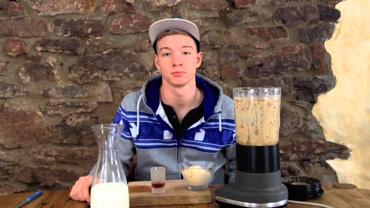 snickers shake rezept zum selber machen youtube. Black Bedroom Furniture Sets. Home Design Ideas