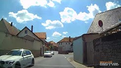 D: Markt Rüdenhausen. Landkreis Kitzingen. Ortsdurchfahrt. Mai 2018