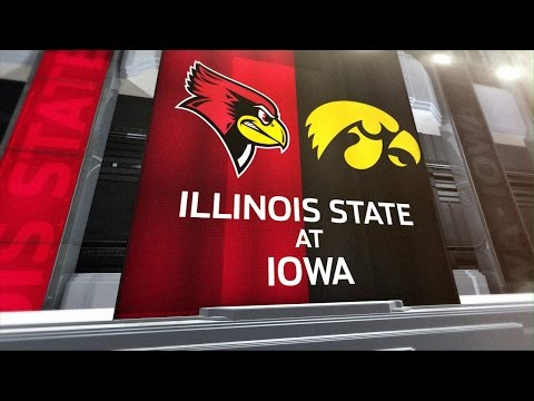 Illinois State at Iowa - Football Highlights