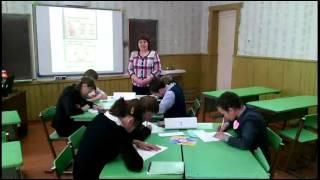 открытый урок 6 класс