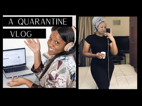 A DAY IN THE LIFE   QUARANTINE EDITION   VLOG 2   POST LAGOS LOCKDOWN