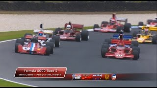 2016 Formula 5000 Trans Tasman Challenge   Phillip Island Classic