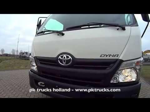 pktrucks Toyota DYNA 300 WC 4x2 flatbed NEW