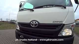 pktrucks Toyota DYNA 300 WC 4x2 flatbed - NEW