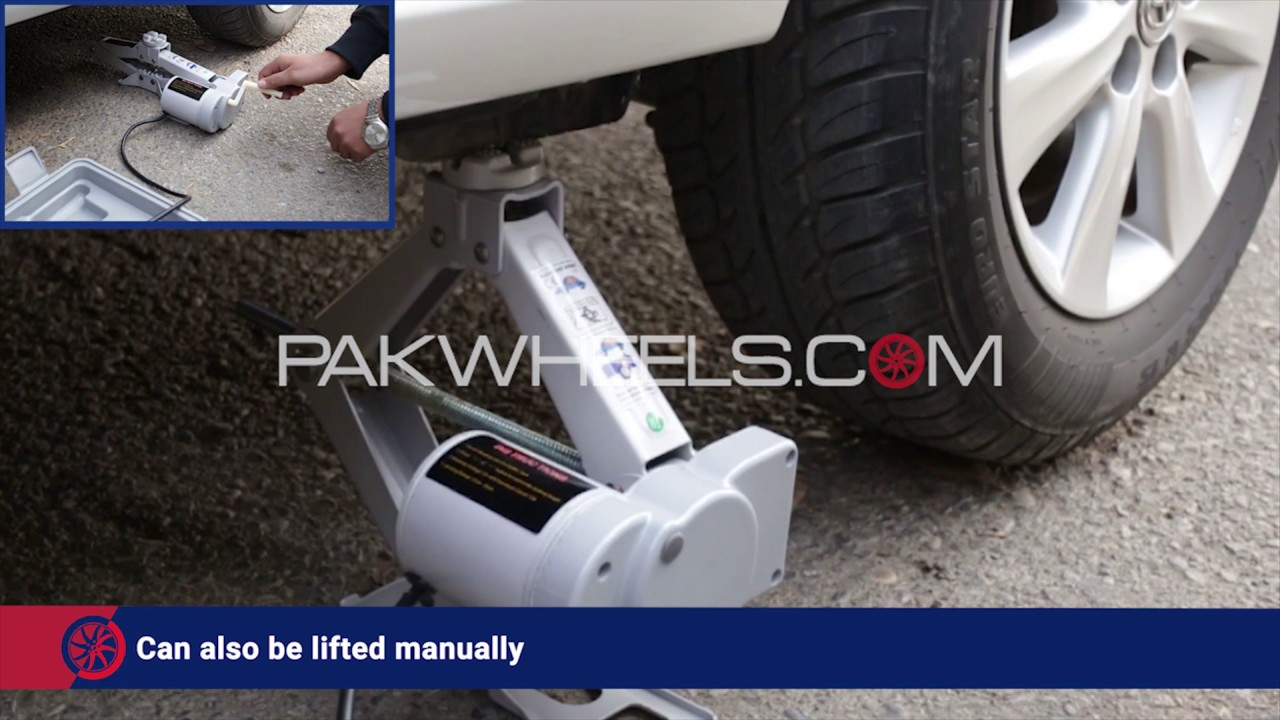 Electric Car Jack Pakwheels Auto Shop Youtube