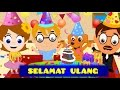 Selamat ulang tahun + Panjang Umurnya + 12 Lagu Anak-Anak | Kumpulan | Happy Birthday Song in Bahasa