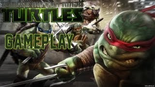 Teenage Mutant Ninja Turtles Out of the Shadows GAMEPLAY PC