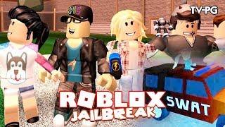 SWAT TEAM ACTION | Roblox JailBreak w/Chrisandthemike & Ashleyosity