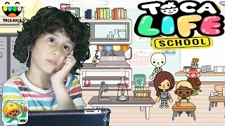 toca boca/toca life school/ game mobile education || KIDS video