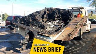 Boat explodes near Hotel Eldorado