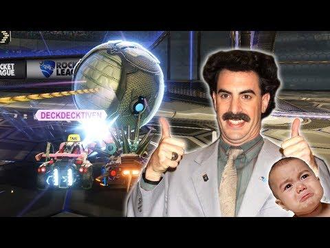 Att citera Borat lite fel & böla som en bebis | Rocket League [FUNNY MOMENTS] thumbnail