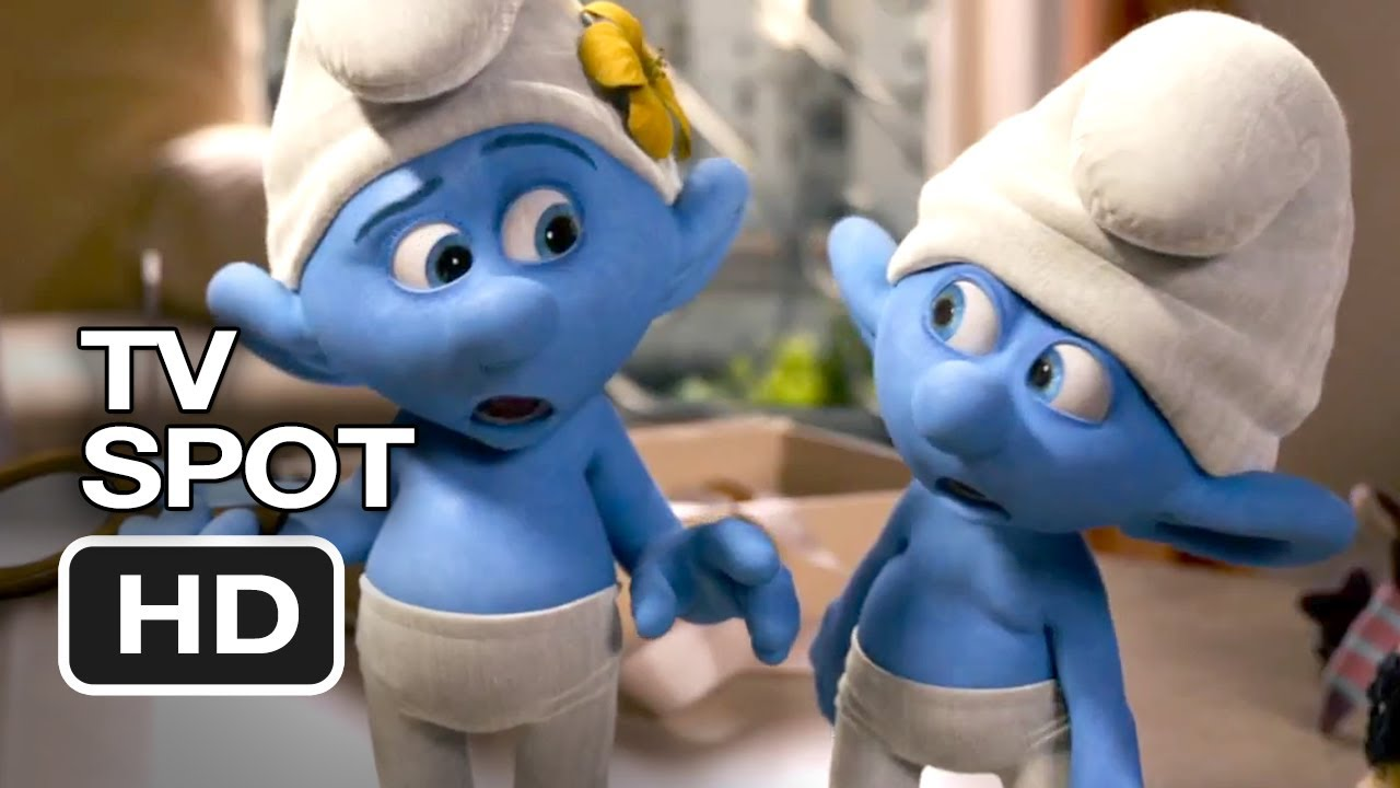 the smurfs 2 tv spot - two times the trouble (2013) - animated