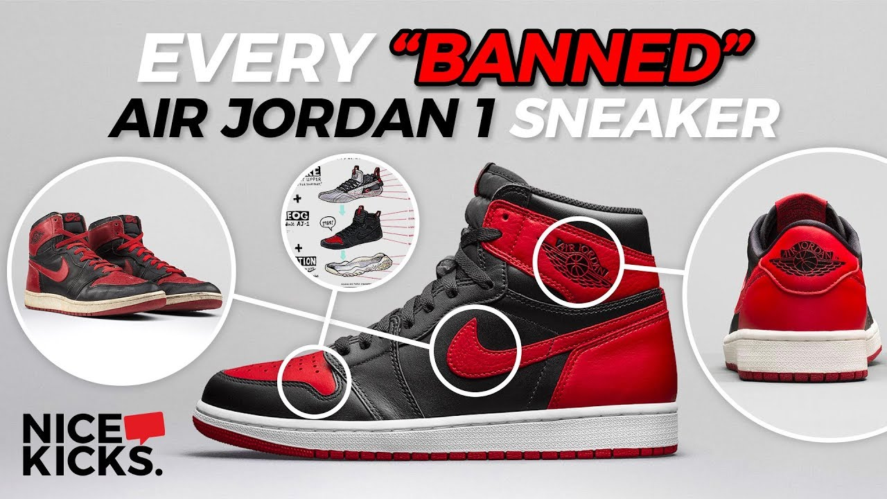 How The Banned Air Jordan 1 Is Still The Goat Kickin Facts