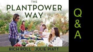 Rich Roll Julie Piatt Q& A at the Seed