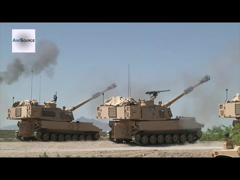 M777 Howitzers & M109 Paladins - Heavy Metal Artillery Live Fire