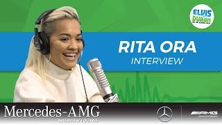 Rita Ora on Why She's Different From Other Artists | Elvis Duran Show