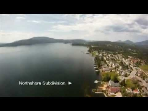 Fly Down The Pend Oreille River In Sandpoint Idaho