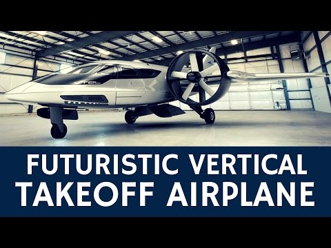 Vertical Take-Off Jet Concept of the Future: XTI Trifan 600