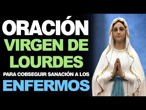 🙏 Oración a la Virgen de Lourdes PARA CONSEGUIR SANACIÓN A LOS ENFERMOS 🤒