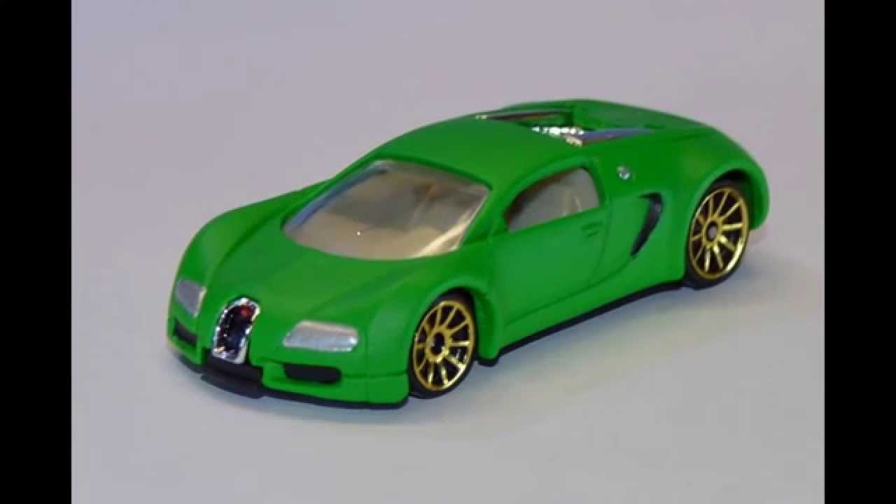 bugatti veyron custom green hot wheels youtube. Black Bedroom Furniture Sets. Home Design Ideas