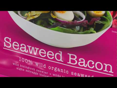 I sea bacon: made out of 100% organic, unprocessed seaweed