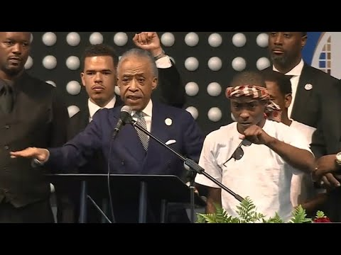 "Rev. Al Sharpton at Stephon Clark funeral: ""This is not a local matter"""