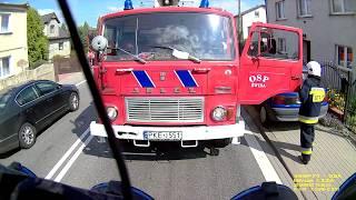 Pożar stodoły - Wyjazd alarmowy OSP Kępno!