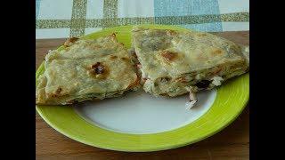 Восточные гренки из тонкого лаваша- вкусная закуска из лаваша